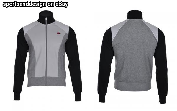 Nike grey/black/white/ slim fit cotton polyester fitness fitted ...