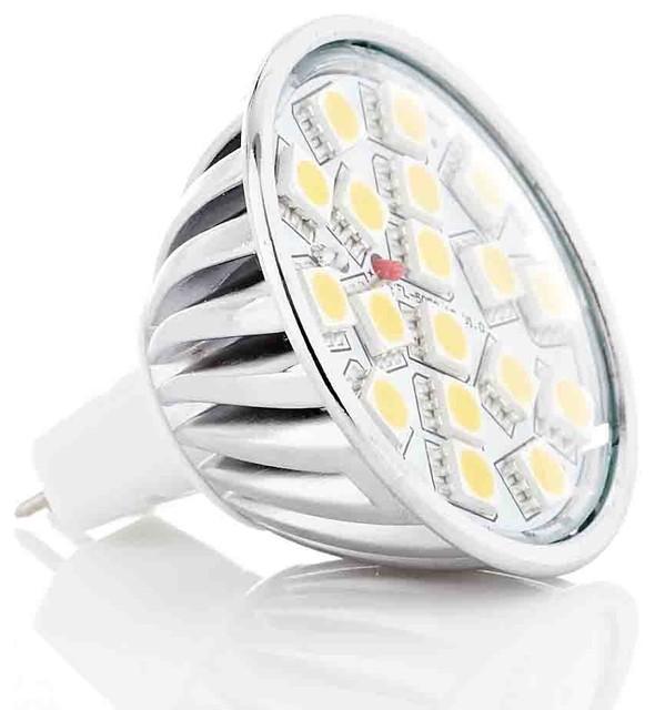 5050 SMD LED 4W MR16 GU5.3 GX5.3 Bulb 12V Cool / Warm