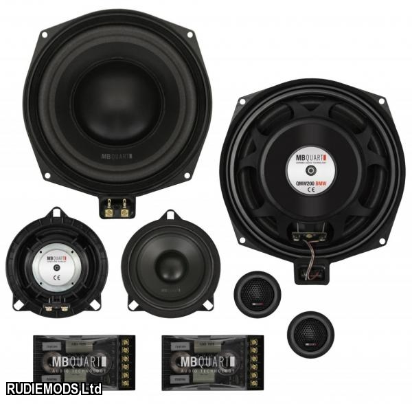 Mb Quart Qm200 3bmw 3 Way Component Speakers To Fit Bmw 3