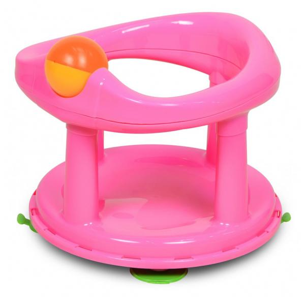 Safety 1st Child Toddler Swivel Bath Support Seat Pink Blue