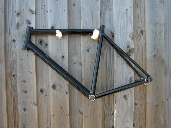 Aluminium alloy Road bike 700C frame 5 sizes black or white | eBay