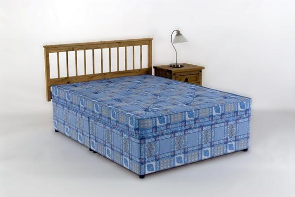 4ft small double divan bed mattress free 24hr delivery uk for Double divan bed with slide storage