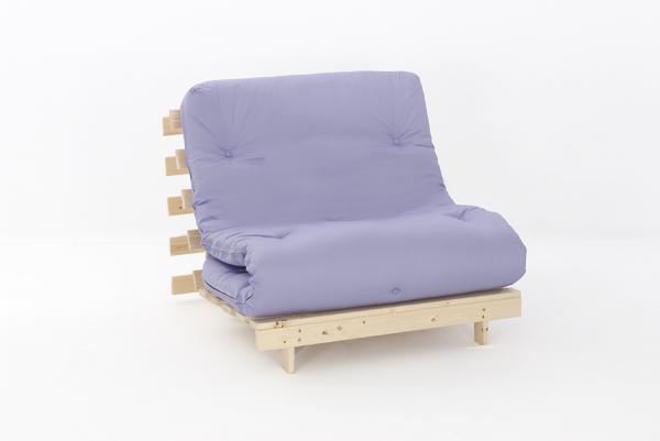 Single 3ft Premium Luxury Futon Wooden Sofa Bed Extra