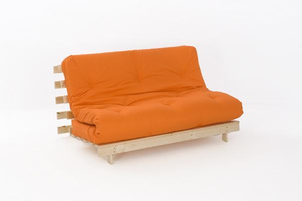 double 4ft premium luxury futon wooden sofa bed extra