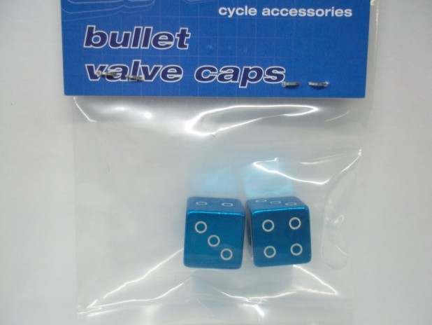BI-TECH-ALLOY-CAR-BIKE-DUST-VALVE-CAPS-BULLET-DICE