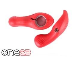 NEW-ONE23-MTB-BIKE-KRATON-RUBBER-HANDLEBAR-SOFT-GRIP-BAR-ENDS-4-COLOURS-ONHE002