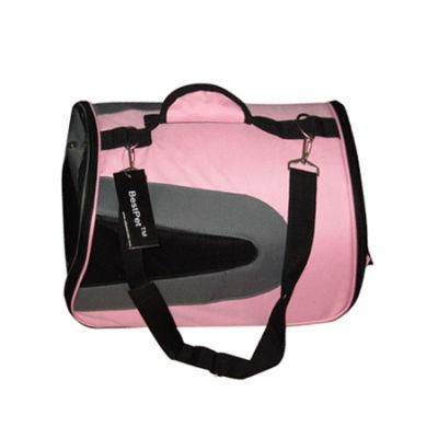 Blue-or-Pink-Medium-Pet-Carrier-Dog-Cat-Bag-Tote-Purse-Handbag-13