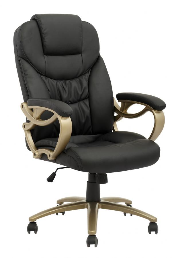 New High Back PU Leather Executive Office Desk Task Computer Chair W Metal Ba