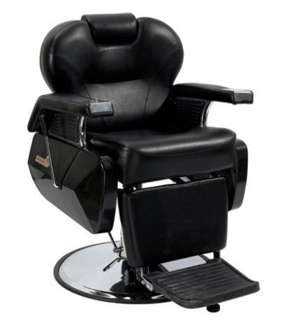 White Fashion Heavy Duty Hydraulic Recline Barber Chair Salon Beauty Shampoo 8W