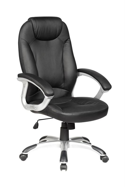 Modern-High-Back-Leather-Executive-Office-Desk-Task-Computer-Chair-w-Metal-Base