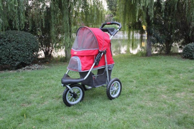New-BestPet-Beige-Blue-Pink-Red-Pet-Jogger-Jogging-Dog-Cat-Stroller-Carrier