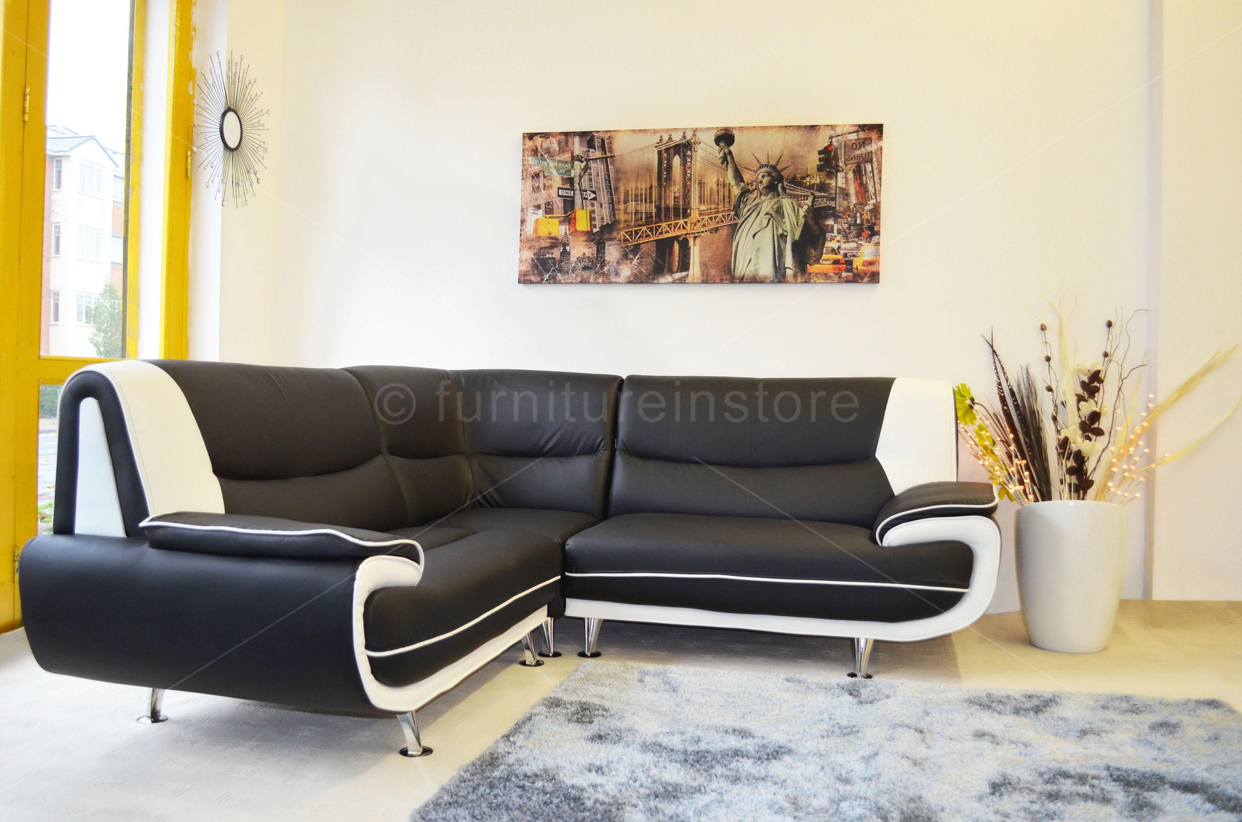 faux leather corner sofa sofa passero corner sofas setttee on sale in the uk. Black Bedroom Furniture Sets. Home Design Ideas