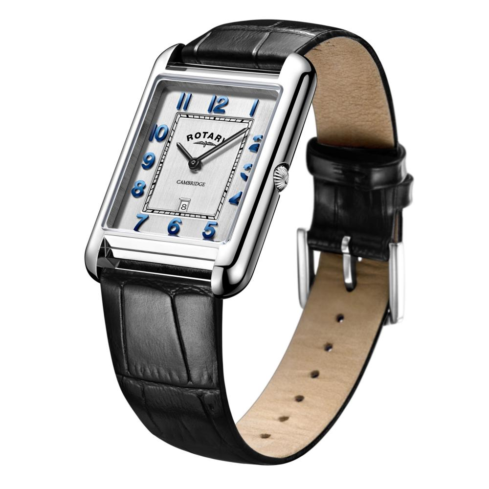 Rotary-Cambridge-Rectangular-Watch-GS05280-70-RRP-149-00-Now-118-95 thumbnail 2