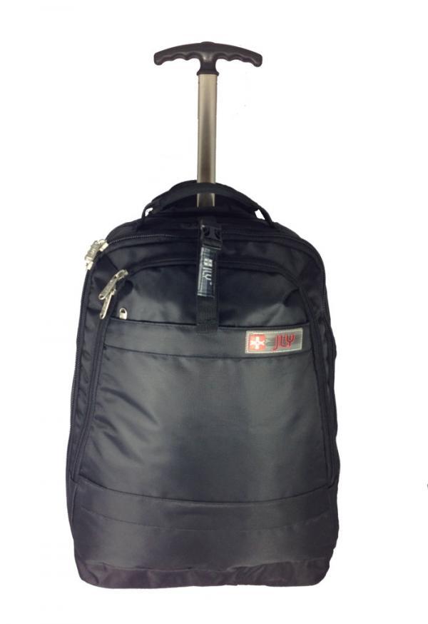 Mens Ladies Rucksack With Wheels Trolly Bag Travel Bags