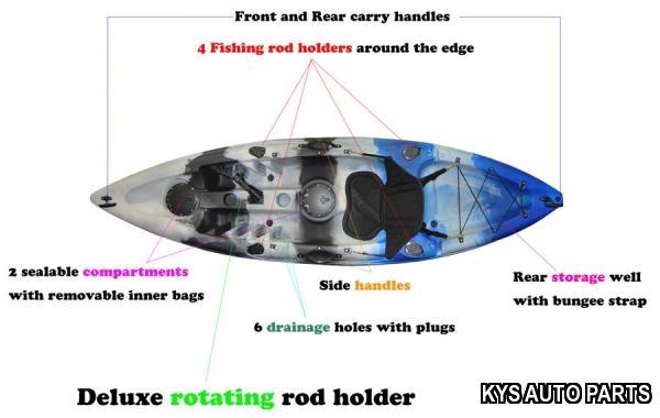 Kayak single fishing kayak brand new great quaility heaps for Fishing kayak brands
