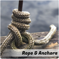 rope and anchors