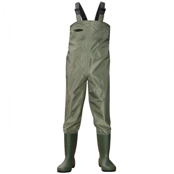 Dirt boot nylon chest waders 100 waterproof fly coarse for Chest waders for fishing