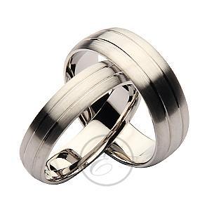 Par de paladio sets 4/&6mm Plano Tribunal alianzas His /& Hers Wedding Bands