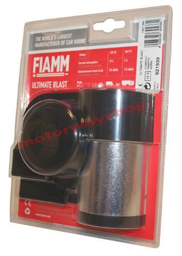 Car Air Horn 12v Fiamm Ultimate Blast Compact Twin Tone