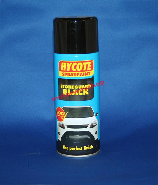 Stone Guard Black Spray Paint Hycote 400ml Aerosol Ebay