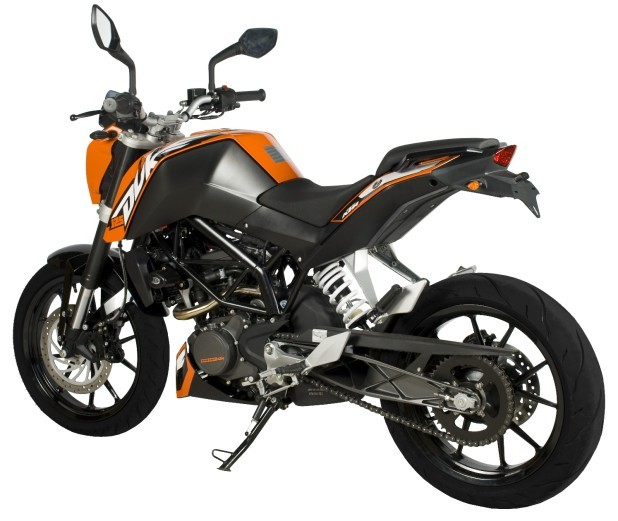 KTM 125 DUKE 2011 TO 2015 R&G TAIL TIDY LICENCE PLATE / NUMBER PLATE ...