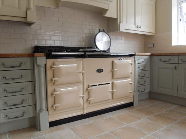 4 Oven Fully Reconditioned Gas Fired Aga Cooker With Power