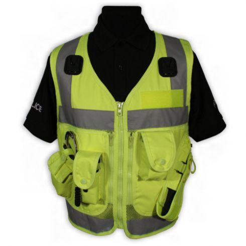 Protec High Vis Yellow Advanced Tactical Police Security