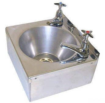 Stainless Steel Hand Wash Basin Sink Taps Uk Trap Waste Ebay