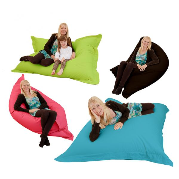 GIANT XXXL Indoor Bean Bag 4 In 1 Floor Cushion Pillow Gaming Cotton Bean  Bag