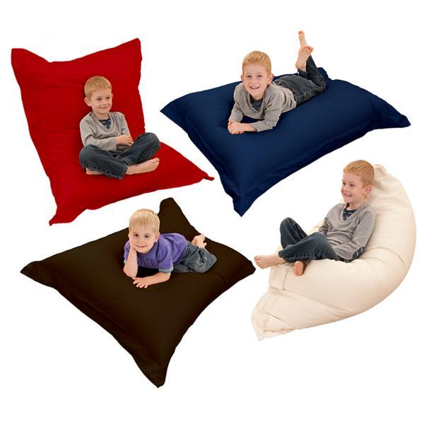 Large XL Indoor/Outdoor Bean Bag 4 In 1 Floor Cushion Stain U0026 Water  Resistant