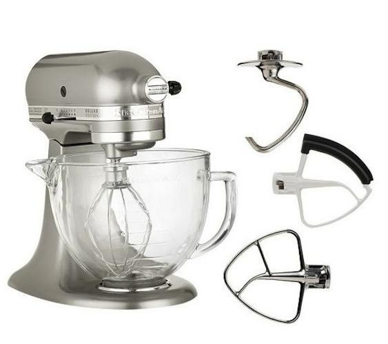 Kitchenaid Deluxe Edition 5qt Tilt Head Stand Mixer Glass