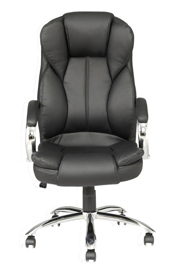 High Back Pu Leather Executive Office Desk Task Computer Chair W Metal Base O18