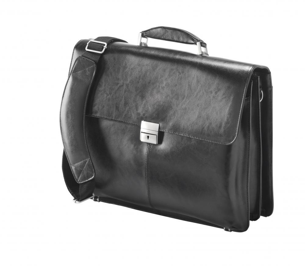 "Bello 15.6"" Valigetta In Pelle Laptop Borsa A Tracolla Regolabile Fi2564 + Gratis Custodia Per Ipad-"
